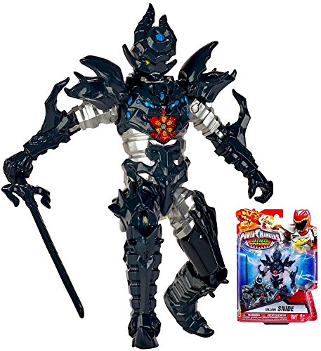 "Power Rangers Dino Super Charge Villain Snide Action Figure 5"" NIP"