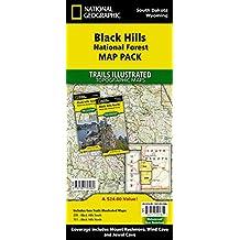 Black Hills South [Black Hills National Forest] (National Geographic ...