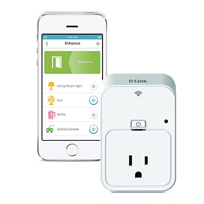 D-Link DSP-W215/LNA Smart Plug (White) Wireless Access Points at amazon