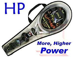 Jolt HP Bug Zapping Racket, Imported and Sold by TnT Sales in Michigan. High Powered Racket gives it that extra ZAP