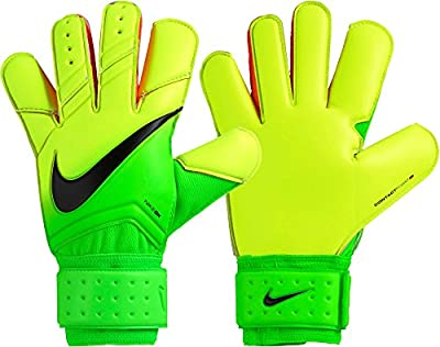 Nike Adult Vapor Grip 3 Soccer Goalkeeper Gloves, (Green/Volt/Black, 12)