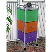 4D Concepts 3-Drawer Chest, Multi Color-Drawers