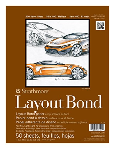 Strathmore 400 Series Layout Bond Pad, 11