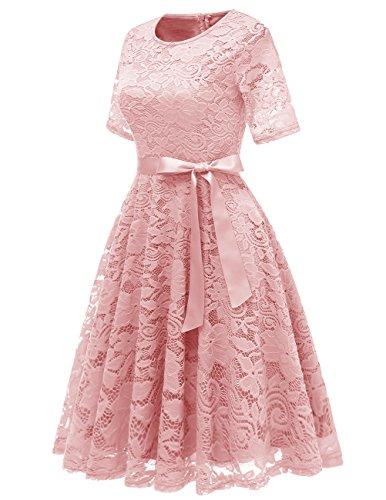 Valentine Formal Short Swing Dresses