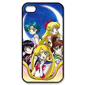 Case for iPhone 4s,Cover for iPhone 4s,Case for iPhone 4,Hard Case for iPhone 4s,Sailor Moon Design TPU Hard Case for Apple iPhone 4 4S