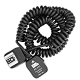 Pixel 11.8 feet/3.6 M E-TTL Off-Camera Shoe Cord for Canon, Off Hot Shoe Flash for Canon 430EX II 420EX 380EX replaces OC-E3b
