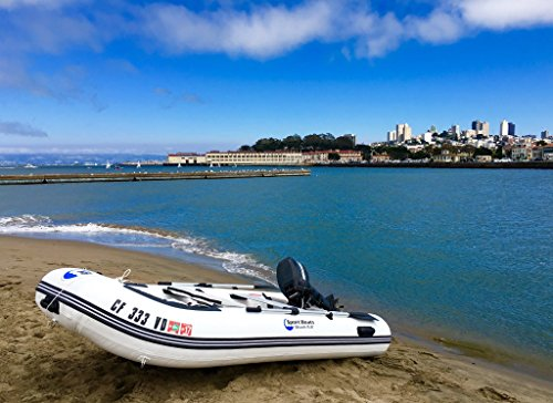 Inflatable Sport Boats Shark 9.8' - Model 300 - Aluminum Floor Dinghy with Seat Bag by Inflatable Sport Boats (Image #2)