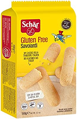 Amazon.com: Schar Gluten savoiardi Galletas 150 g: Health ...