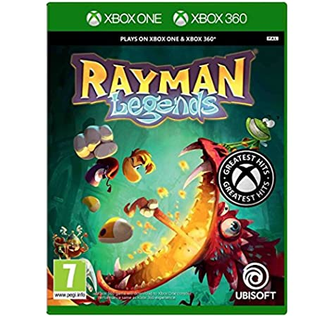Ubisoft Rayman Legends, Xbox 360 - Juego (Xbox 360, Xbox 360, Plataforma, E10 + (Everyone 10 +)): Amazon.es: Videojuegos