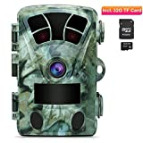 AIMTOM T905 Hunting Trail Camera with SD Card, 2Pcs No Glow Super Power