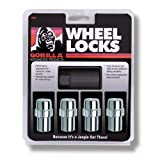 Gorilla Automotive 73681N Standard Mag Wheel Locks (1/2-Inch Thread Size)