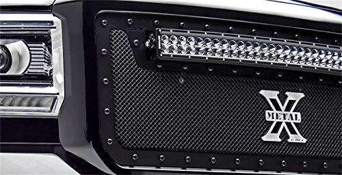 alth Metal Series Black Grille Chevrolet Silverado HD Bumper (Upper Class Series Bumper Grille)