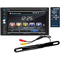 Planet Audio P9650BRC Touchscreen Bluetooth Double-DIN DVD Player, 6.5-Inch