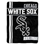 MLB Chicago White Sox Micro Raschel Throw, One Size, Multicolor