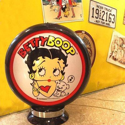 ガスランプ BETTY BOOP ベティブープ ガスポンプ ランプ GASPUMP 店舗照明 ガレージ B0777JQHH8 27000