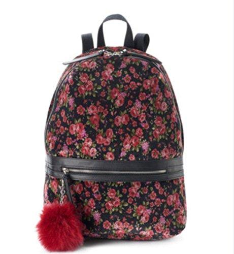 Candies Scarlet Rose Backpack Handbag Laptop Travel Bag 17