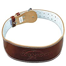 IWANNA Natural Cowhide Lifting Belt Weight