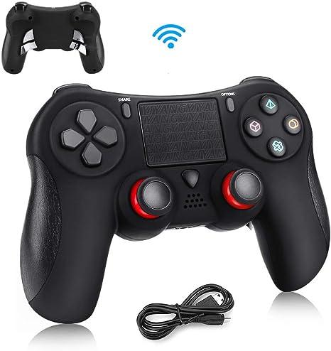 Controlador para PS4 Achort Wireless Controlador Mando Inalámbrico ...