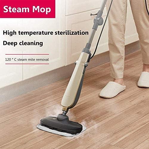 Nano Steam Mop, Multifuction Handheld Nettoyeur vapeur, outils de nettoyage for la maison Mop Cuisine salle de bains, chauffage 10S rapide KNDTA