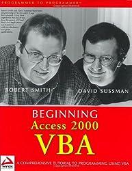 Beginning Access 2000 VBA (Programmer to Programmer)