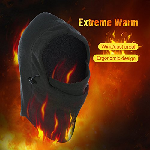 REDCAMP Balaclava Face Mask Winter, Outdoor Ski Mask Fleece, Windproof Hood