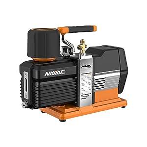 Navac NP12DM Vacuum Pump, 12 CFM, 5 Microns, DC Inverter, Master Series