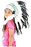 N31 Kid/Children 5-8 Years: Feather Headdress | Native American Indian Inspired