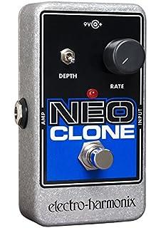electro-harmonix Neo Clone Neo Clone Pedal - Pedal multiefecto para guitarra, color plateado