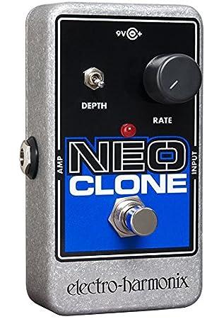 electro-harmonix Neo Clone Neo Clone Pedal - Pedal multiefecto para guitarra, color plateado: Amazon.es: Instrumentos musicales