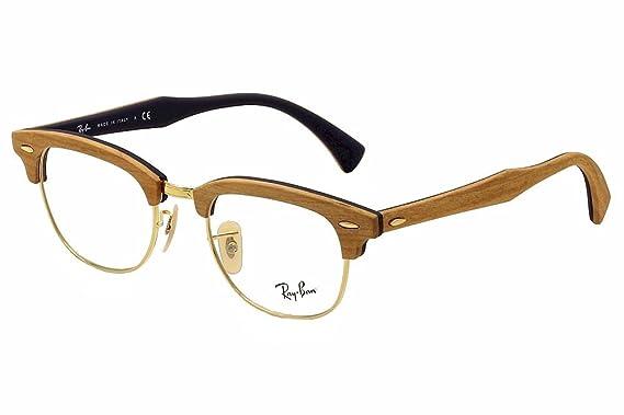 e24f7adebfef3d Amazon.com: Eyeglasses Ray-Ban Optical RX 5154M 5559 CHERRY RUBBER ...