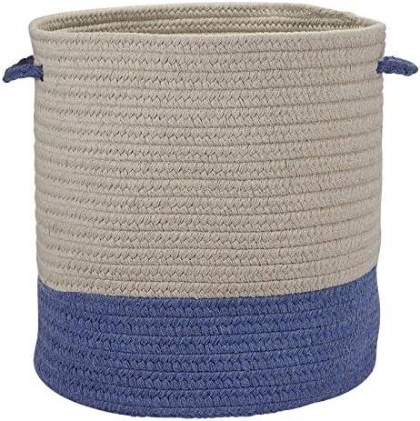 Sunbrella Coastal Basket A013X011 Basket, 13 x 13 x 11 , Cornflower