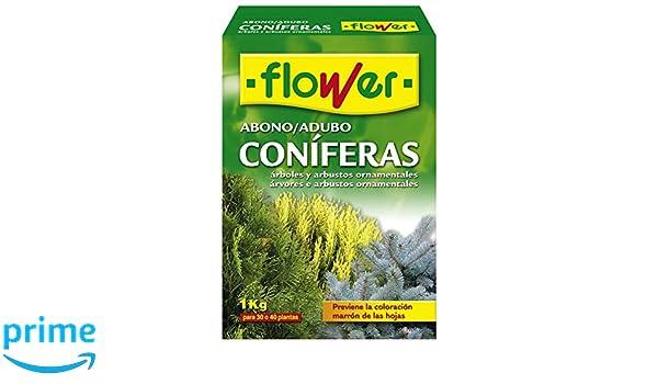 Flower 10518 10518-Abono coníferas y arbustos, 1 kg, No Aplica, 7x18x25.5 cm: Amazon.es: Jardín