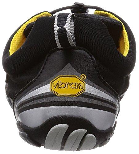 LS Sport Chaussures KMD Noir Homme Vibram FiveFingers Black Fitness Bleu Silver de qfwtng