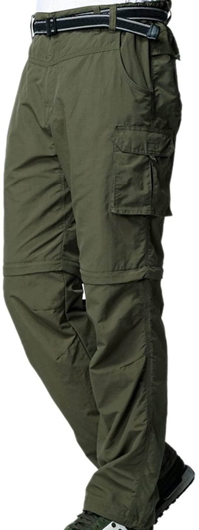 Jessie Kidden Mens Cargo Trouser Work Finishing Pants Anytime Outdoor Quick Dry Active Windproof Convertible Hiking Finishing #225