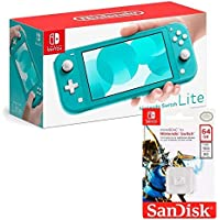 Nintendo Switch Lite Turquesa- Standard Edition + Micro SD 64GB Edicion NINTENDO