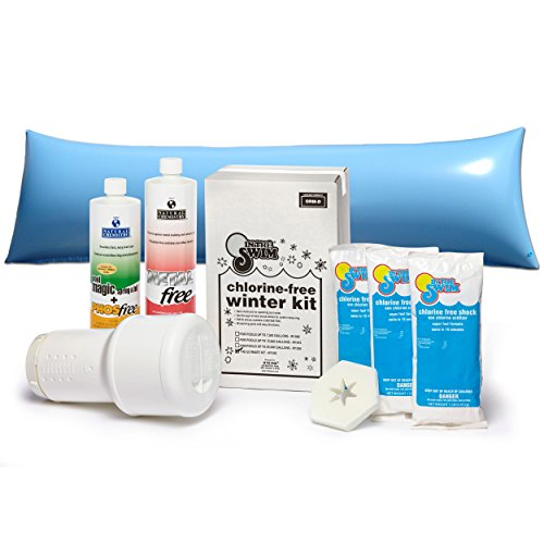 (In The Swim Bundle � 2 Items: Ultimate Pool Winterizing and Closing Chemical Kit for Pools up to 35,000 Gallons and 4 x 8 ft. Air Pillow)