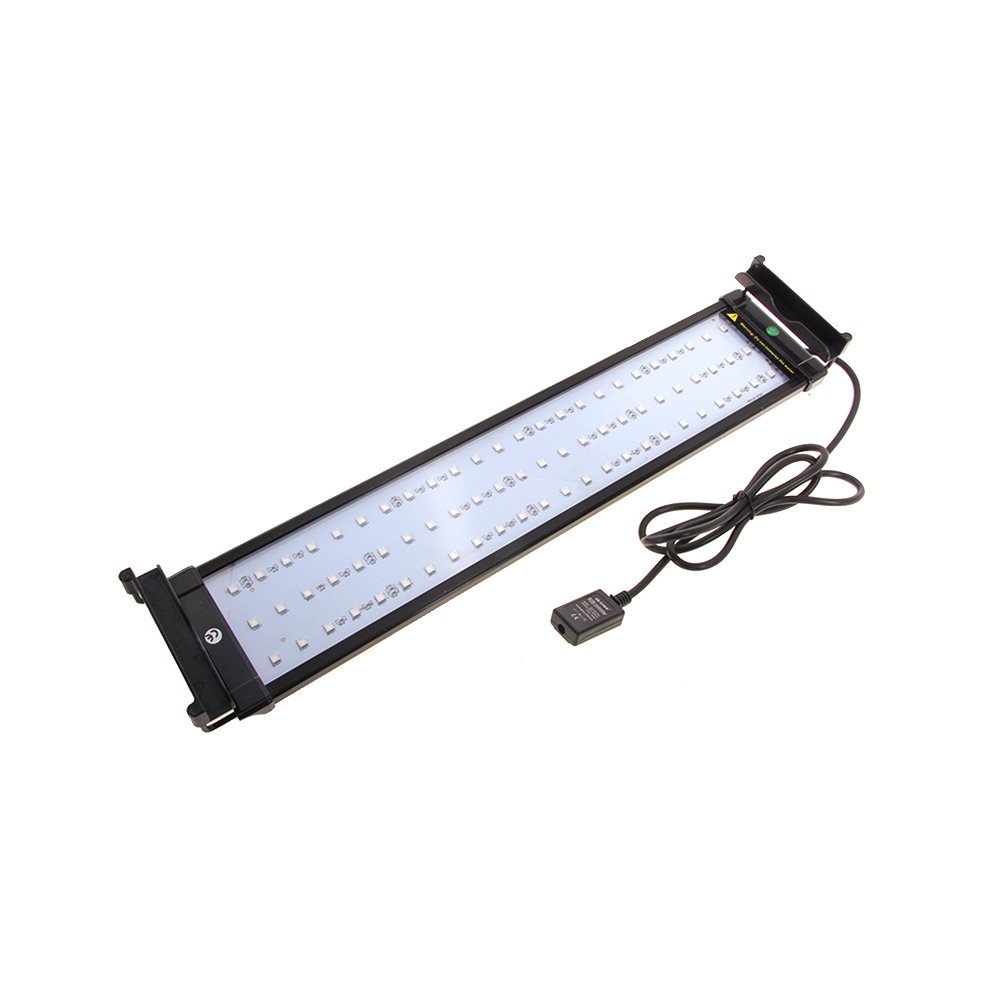 NICREW Aquarium RGB LED Strip Light With Dimmable Color Changing Remote Control, 14W, Fits 20 to 27 Inches Fish Tank ZJL-60B