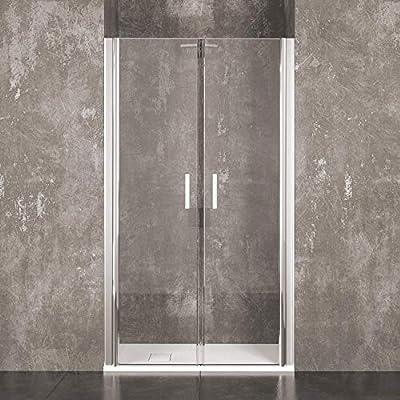 Mampara de ducha Saloon Sofia puerta de baño con apertura batiente ...