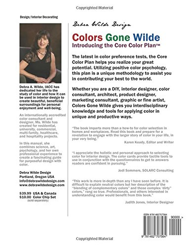 Amazon Colors Gone Wilde Introducing The Core Color Plan