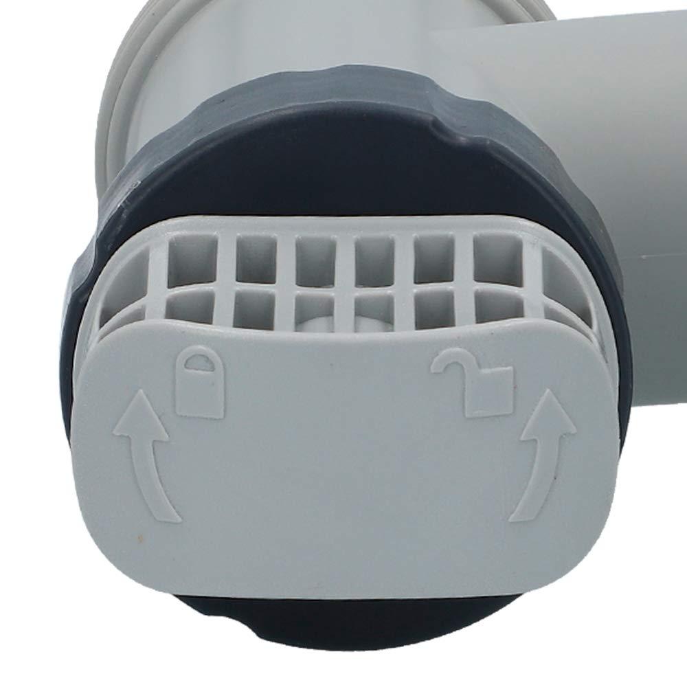 INTEX Pack 2 Conjuntos de válvulas de Vaciado 38 mm