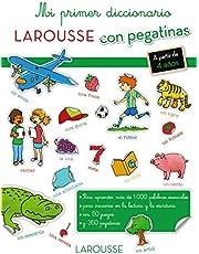 Mi primer diccionario con pegatinas (Infantil Juvenil Larousse)