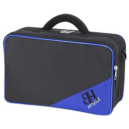 Amazon.com: ESTUCHE CLARINETE REF. 181 MOCHILA 34x21x11,5cm (Negro/Azul): Musical Instruments