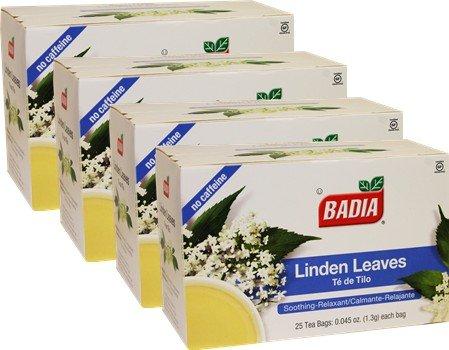 Linden Tea by Badia 100 Tea bags by Badia