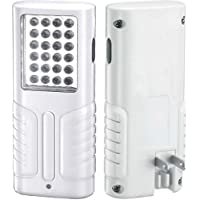 Durofix RL435 Li-Ion 4V Plug-In Power Outage LED flashlight Rechargeable Battery, 24 LED/600 Lumen, by ACDelco Tools