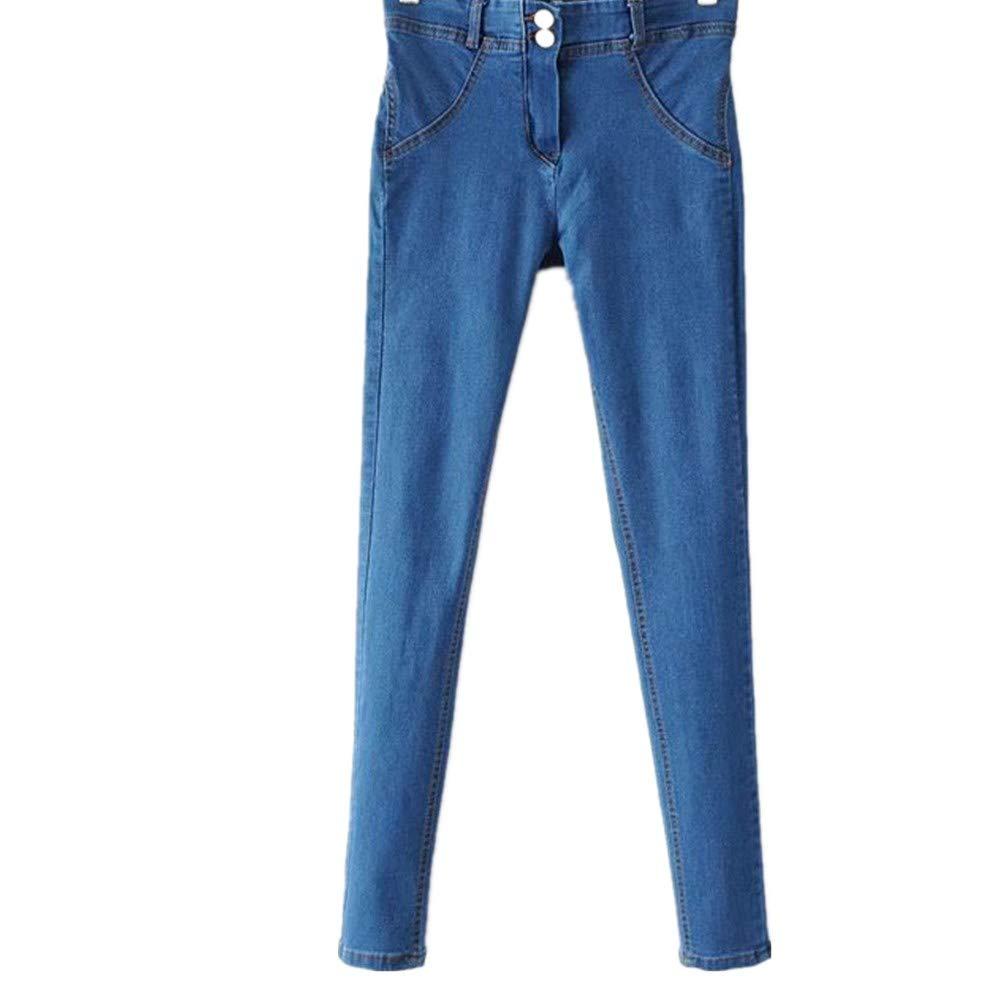 Ansenesna Pantalones Mujer Vaqueros, Jeans Mujer Cintura ...