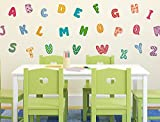 "I-love-Wandtattoo WAS-10209 Wall stickers kids ""Alphabet with colorful Review and Comparison"