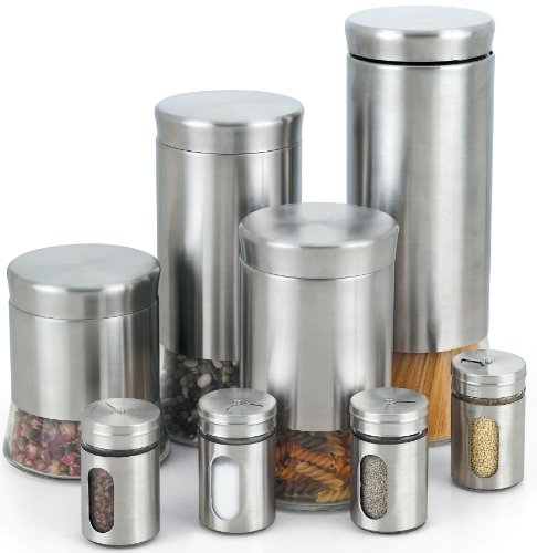 8 Piece Canister Set - 5