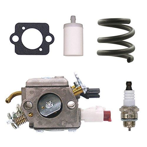 FitBest Carburetor Carb for Husqvarna 340 340E 345 346 346XP 350 351 353 Zama C3-EL42 Chainsaw Replaces 503283208