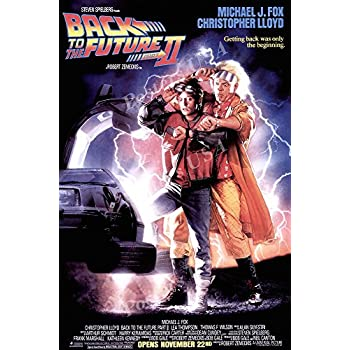 posters usa back to the future ii part 2 movie movie poster mov039 24 x 36. Black Bedroom Furniture Sets. Home Design Ideas