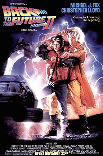 Back Movie Poster (Posters USA - Back to the Future II Part 2 Movie Movie Poster - MOV039 (24